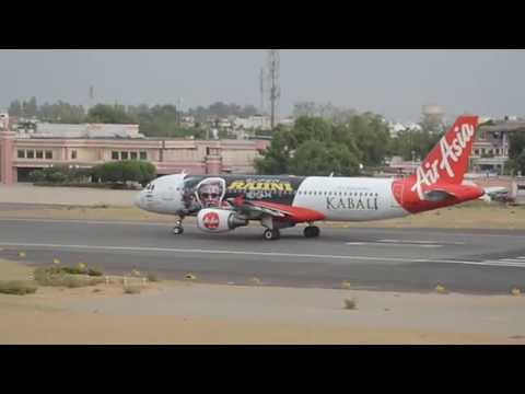 'Kabali' Rajinikanth Tamil Film Promotion By AirAsia Aircraft | Exclusive Video