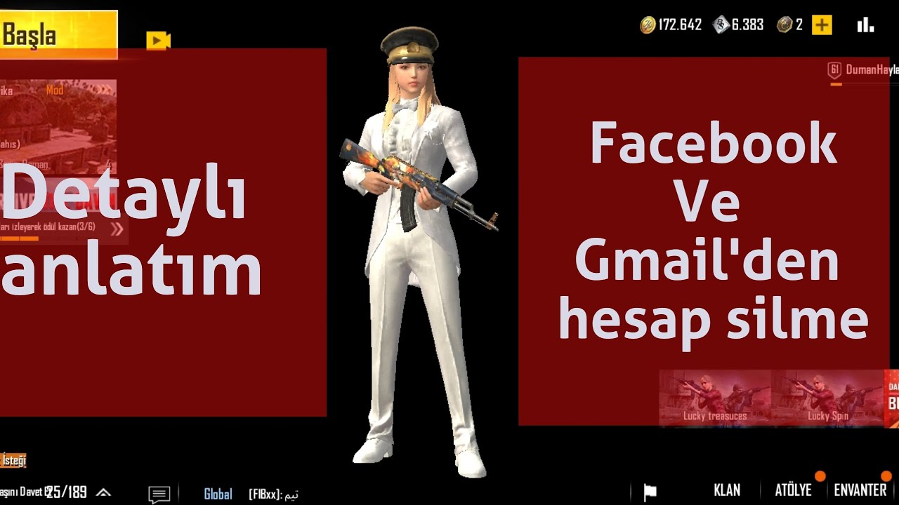 Facebook ve Gmail'e Bağlı  Oyun Kaldırma | Oyun Hesabı Nasıl Silinir ? |