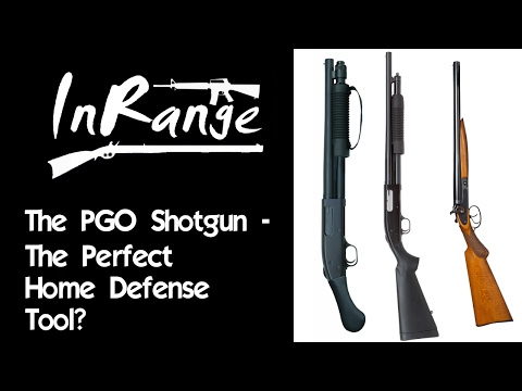 The Pistol Grip Only Shotgun - The Perfect Home Defense Tool