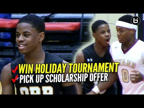 Chase Adams, Orr HS Blowout Proviso Tournament! Adams Picks Up D1 College Basketball Offer!