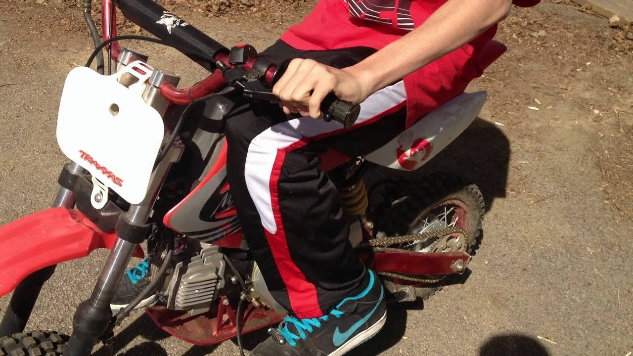 How To Ride A Dirtbike With A Clutch Youtube