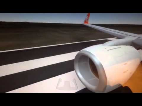 Fsx Gol 737-800 takeoff from Anguilla