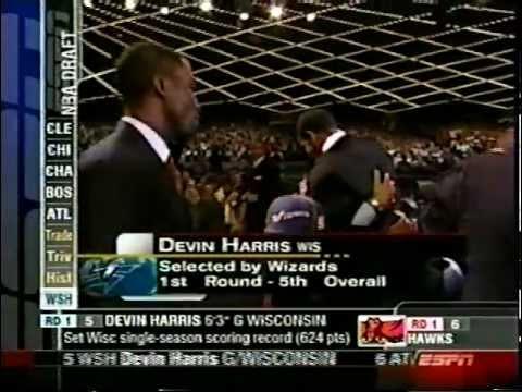 Devin Harris - 2004 NBA Draft - Pick #5