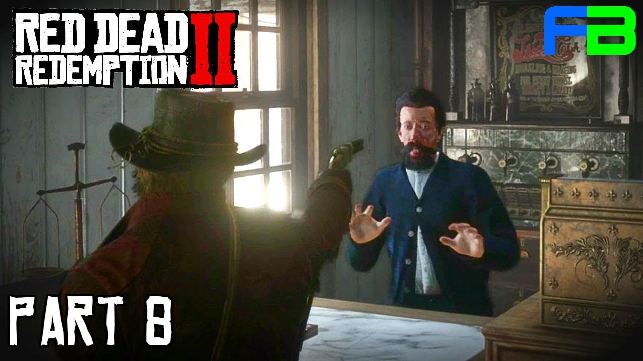 Hunting Black Widow And Robbing Doctors Red Dead Redemption 2