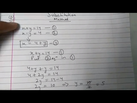 Chapter 3 Exercise 3.3 Pair Of Linear Equations In Two Variables Maths Class 10  (N.C.E.R.T)