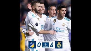 APOEL vs REAL MADRID 0-6 | All Goals & Highlights | 21 11 2017 HD
