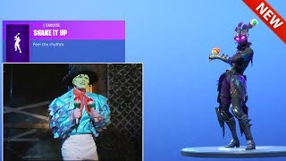 "*NEW* THE MASK: JIM CARREY ""SHAKE IT UP"" DANCE EMOTE! [Cuban Pete] FORTNITE BATTLE ROYALE"