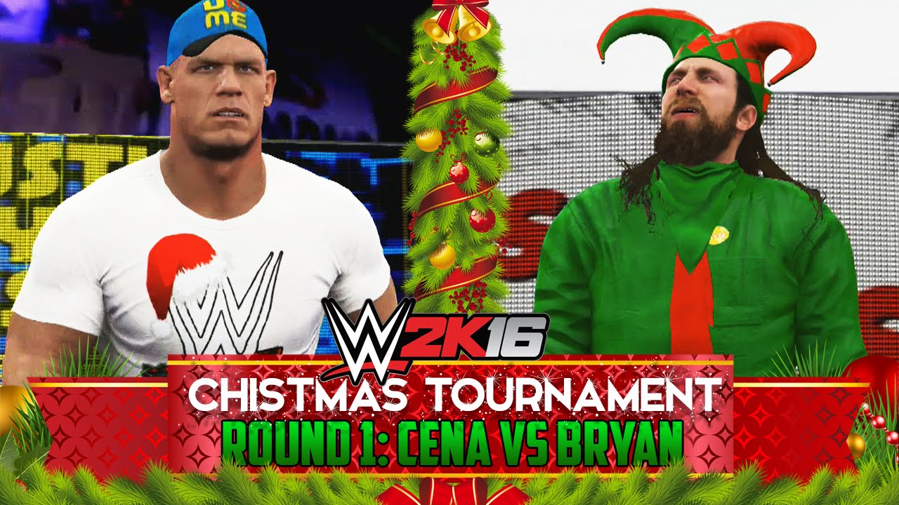 WWE 2K16 Christmas Tournament - Round 1: John Cena vs Daniel Bryan ...