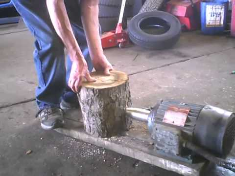 Screw Type Home Made Electric Wood Splitter Doovi