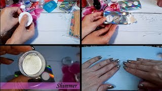 Как я делаю маникюр ТЕСТ ДРАЙВ CATRICE Lux Chrome Nail Powder Kit