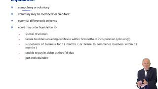 Liquidations - ACCA Corporate and Business Law (LW) (ENG) (GLO)
