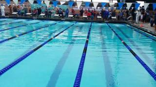 Glendale High School Jayson Wilia 100 yard backstroke