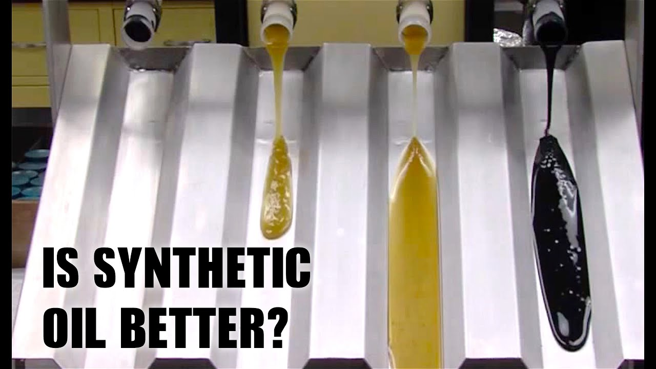 is synthetic motor oil better for your car  [ 1280 x 720 Pixel ]