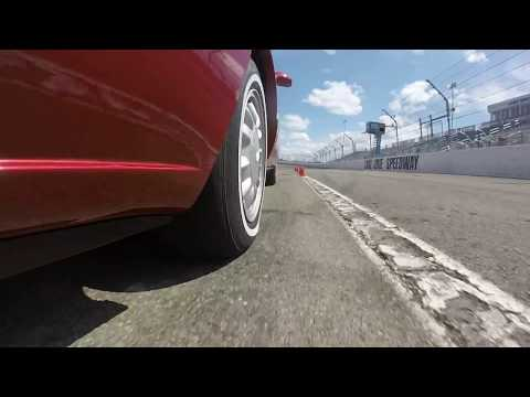 Sidewall Flex Whitewall Tire Olds 88 Autocross