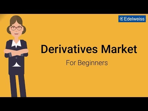 Derivatives Market For Beginners | Edelweiss Wealth Management