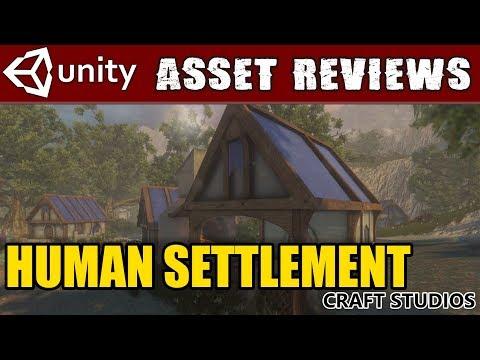 Unity Asset Kit Reviews - Human Settlement