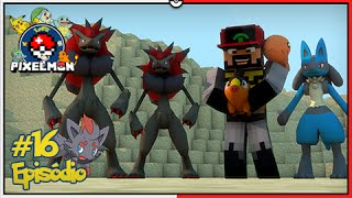 Minecraft A Lenda dos Campeões #16: Zoroark e Novos Pokémon na Equipe! [Pixelmon]