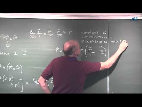 Scott Tremaine (Institute for Advanced Study, Princeton) Celestial Mechanics I