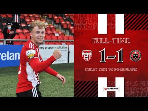 Derry City Bohemians D. Goals And Highlights