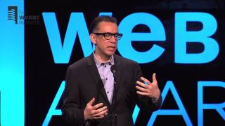 Fred Armisen Presents Grimes with Webby Artist of the Year at the 17th Annual Webby Awards