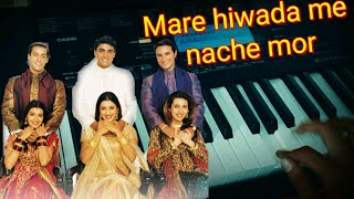 Download Mare hiwda me nache mor Piano | Hum sath sath hai | by Hardik Bhoi MP3 song and Music Video