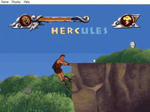 Disney's Hercules (training) game |