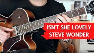 How to play Isn't She Lovely - Steve Wonder