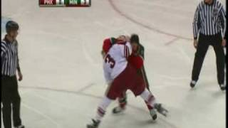Cal Clutterbuck vs. Keith Yandle 11/13/08