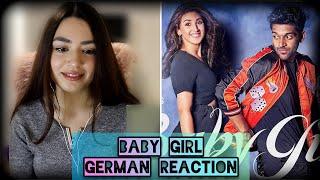 GERMAN REACTION | Baby Girl | Guru Randhawa Dhvani Bhanushali | Remo D'Souza | Bhushan Kumar | Vee