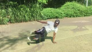 Born4Dance - Jammen in tha park with Yazzy and Bboy Wash
