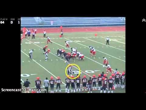 Kendall Bruton 2013 Nassau Community College 4 game CB Highlights