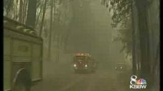 Blaze Forces Evacuations In Butte County