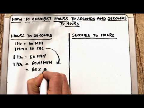 3 Ways to Convert Seconds Into Hours - wikiHow