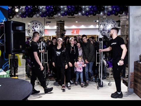Магазин одежды и обуви COXSHOP открытие в торговом центре Галерея Вояж г. Тюмень