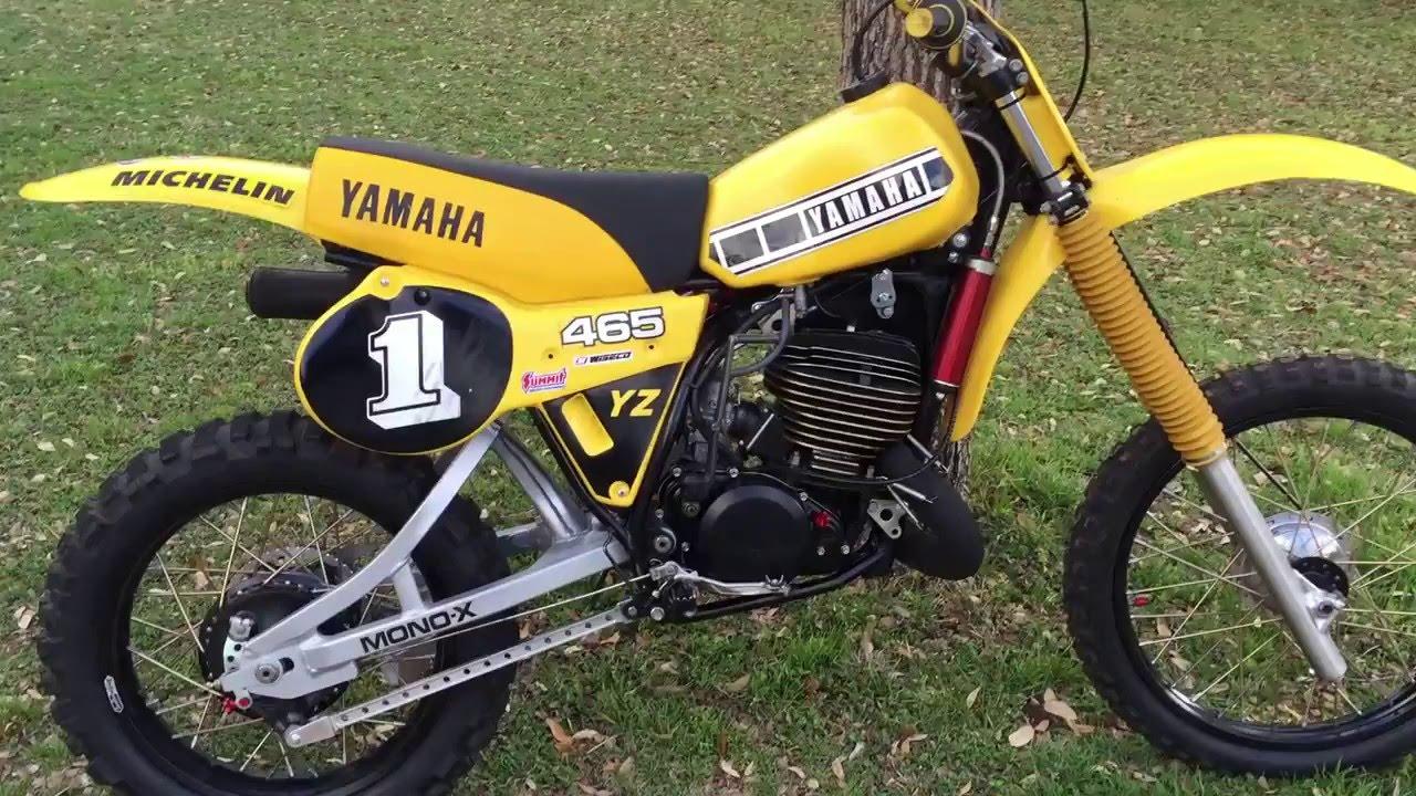 Yamaha Yz465 Rebuild Loading Up