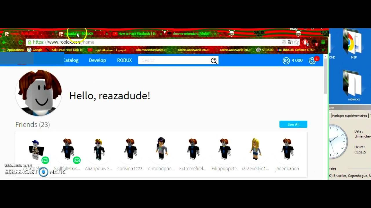 Roblox Username Changer Robux Generator Youtube