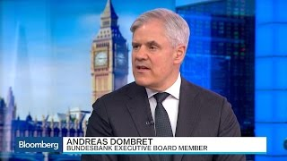 Dombret Sees Risk of Brexit Talks Race to Bottom