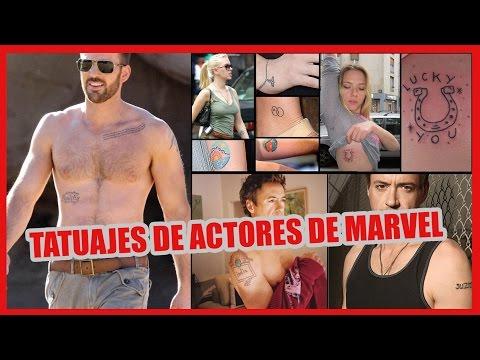 Tatuajes de los actores del UCM (Universo Cinematográfico Marvel)