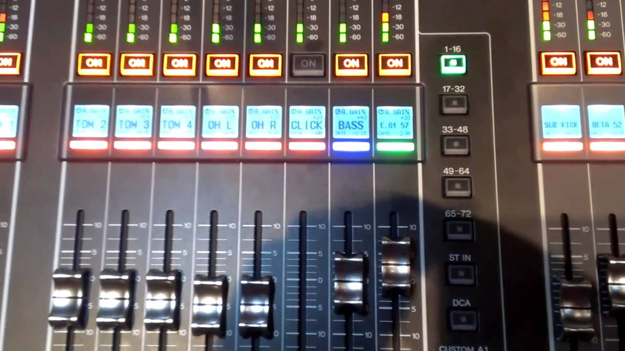 yamaha cl5 digital mixing console youtube. Black Bedroom Furniture Sets. Home Design Ideas