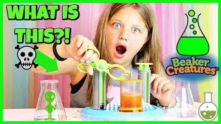 Beaker Creatures SURPRISE TOYS FOR KIDS Fun Science Experiment!