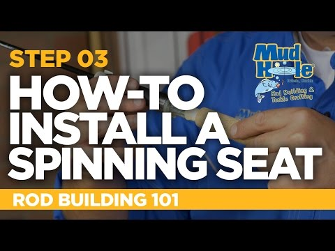 How-To Install A Spinning Reel Seat | Rod Building 101