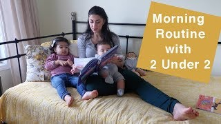Morning Routine with 2 under 2 | RealLeyla