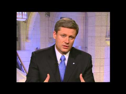 Interview with Stephen Harper (2005)