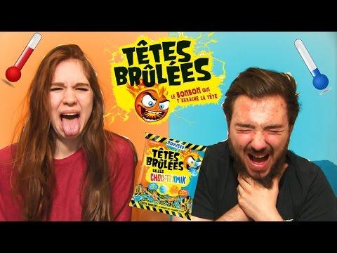 TÊTES BRULÉES CHALLENGE en Couple ! Défi Bonbons CHOC-TERMIK !