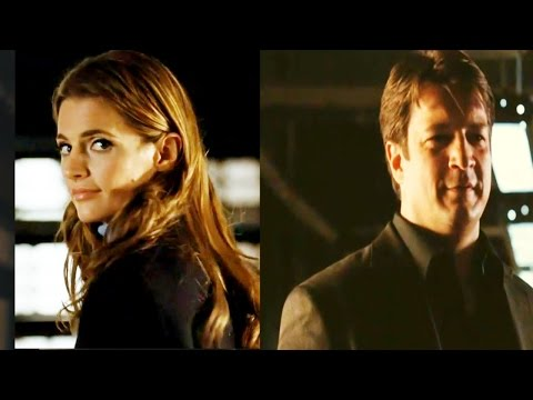 Castle 4x10 Moment:  Next time let's do it without the tiger - Next time? (Cuffed)