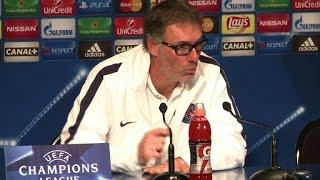 Conférence de presse du PSG avant match Real Madrid