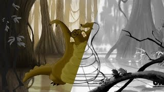 The Princess and The Frog - Louis Animation Process
