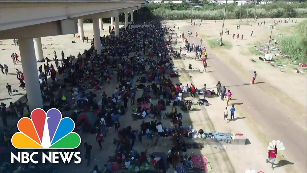 Homeland Security Secretary in Del Rio, Texas: 'Our borders are not ...