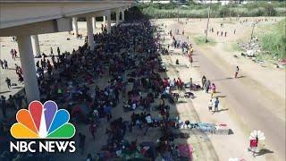Southern Border Crisis Apparent in Del Rio, Texas