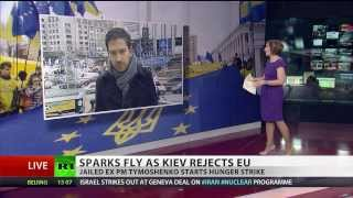 West not Best: Sparks fly as Ukraine rejects EU